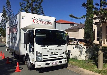 Coastline Removals truck